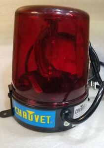Chauvet Ya 145 Police Beacon Rotating Spinning Red