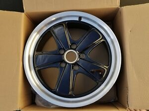 New 19 997 Sport Classic Porsche Front Oem Factory Wheel Rim Black 99736215756