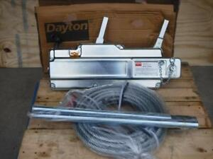 New 20tm65 Dayton 7050lb Lifting 10 575 Pulling Wire Rope Cable Hoist Puller