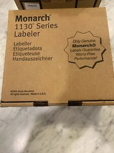 Genuine Brand New Monarch 1131 1130 Series price Gun Labeler With Ink Roller