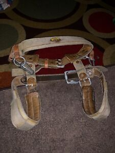Stinger 3025nl 80s Tree Climbing Harness Leather Large