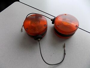 Used Kubota Pair Amber Hazard Light B L M Series Tractors