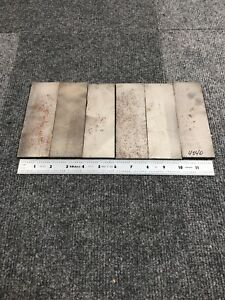 Lot Of 6 4340 Steel Flat Bar 1 4 X 2 X 6 Great For Knife Making 5lbs
