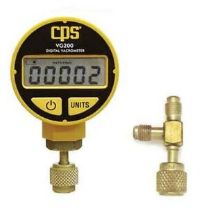 Cps Products Vg200 Digital Vacuum Gauge Measures In Microns Shipping Included