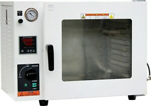 Ai Eco 1 9 Cu Ft Vacuum Drying Oven With Led Lights 110v Pump Not Included