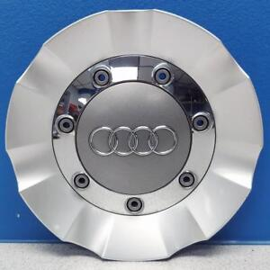 One 2007 2013 Audi Q7 58805 Oem Alloy Wheel Center Cap Part 4l0601165 Used