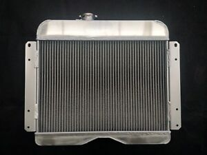For 1946 1964 Jeep Willys Station Wagon Pickup Truck 3row Aluminum Radiator