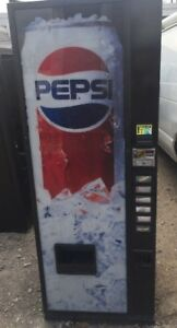 Royal 6 Selection Vending Machine W Pepsi Graphic Rvmc 282 6