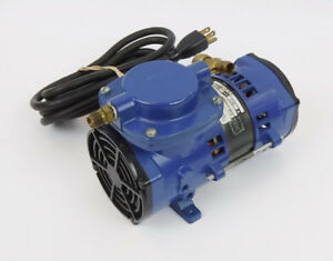 Thomas Industries Air Compressor 115v 60hz 1 55a Tested Working