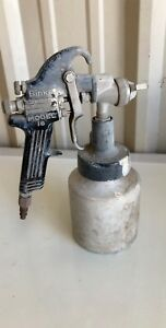 Binks Model 18 Paint Spray Gun W Canister