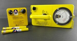 Cd Radiation Survey Meter Cdv 715 1b Dosimeters Chargers Geiger Counter Lot