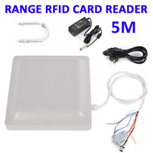 Uhf Rfid Card Reader 5m Rs232 rs485 wiegand Reader Parking System Access Control