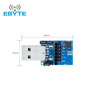 Ebyte E15 usb t2 Cp2102 Uart Usb To Ttl 3 3v 5v Wireless Test Board Adapter