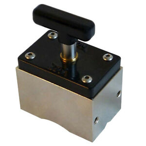 Angle Locator Square Magnetic Welding Fixer Clamp For Circular Workpiece 60kg