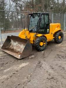 2002 Jcb 520 4x4x4 Rough Terrain Mini Telehandler Telescopic Forklift
