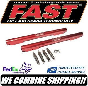 Fast Bbc Chevy Fuel Rail Kit For F a s t 454 502 Efi Intake Manifold 30454