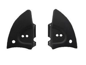 Vw Bug Convertible 1968 79 Rear Hinge Covers Black