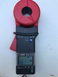 Aemc 3731 Clamp on Ground Resistance Tester Meter