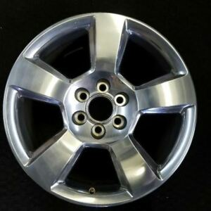 20 Chevy Silverado 1500 Tahoe 2014 2018 Polished Oem Factory Wheel Rim 5652