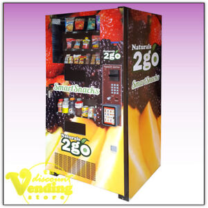 10 Refurbished Seaga N2g4000 Healthy Combo Vending Machines