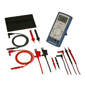 Bk Precision 391a kit 391a True Rms Dmm With Test Lead Set