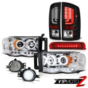 02 05 Dodge Ram 1500 2500 5 9l Tail Lamps Headlights Fog Roof Cargo Light Drl