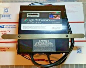 36 Volt 25 Amp Battery Charger Eagle 36250bu Pro Charging Sys 100 115 230 Vac