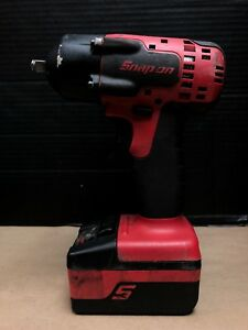 Snap on ct8810a 18v Cordless Power Tool 3 8 Drive 2400 Rpm Impact Wrench