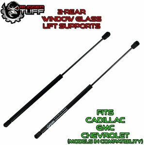 Fits Chevy Gmc Cadillac Rear Window Glass Lift Supports Shocks Gas Struts 2pc