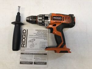 Ridgid R861150 X3 18v Hammer Drill 1 2in Two speed Reversible tool Only