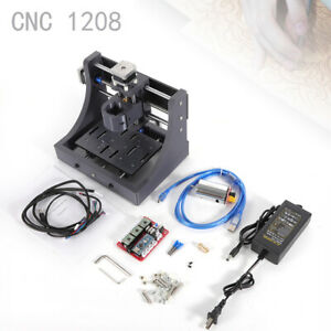 3 Axis Usb Cnc Router Wood Carving Engraving Pcb Milling Machine 3pc Drill Bits