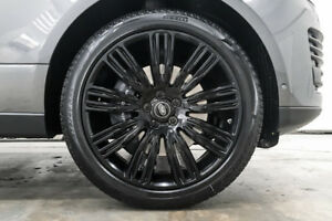 4 Genuine Range Rover Autobiography Wheels Tires Style 9012 Gloss Black Rims