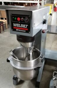 Varimixer 60 Qt Planetary Mixer With Paddle And Hook W60 208 240v 3ph