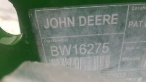Bw16275 John Deere Loader Brackets 5e 4 Cyl Tractors With No Def
