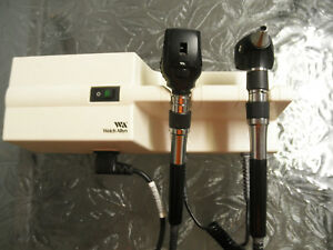 Welch Allyn 767 Wall Transformer With Otoscope And Ophthalmoscope