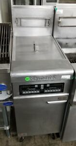 Frymaster 50 Lbs Fryer High Efficiency With Electronic Controls Ph155 Natural