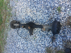 1968 69 70 71 72 Chevy Chevelle Gm 8 2 10 Bolt Complete Rear End Axle Housing