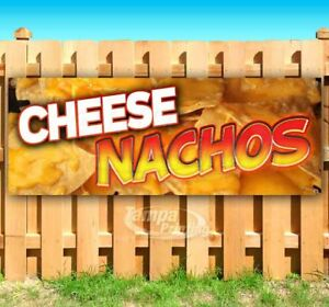 Cheese Nachos Food Advertising Vinyl Banner Flag Sign Many Sizes Parties Spicy