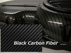 20 1 M Black Original Carbon Fiber Hydrographics Film Water Transfer Printing