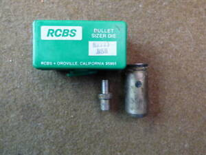 RCBS Lube-A-Matic 82223 .358 Bullet Sizing Die and RCBS Top Punch 429