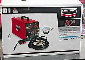 Century 80gl Flux Cored Wire Feed Electric Welder 70 Amp 115v 01chb