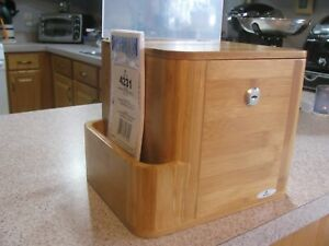 Safco Bamboo Suggestion Box 10 X 8 X 14 Natural 4237na New In Box