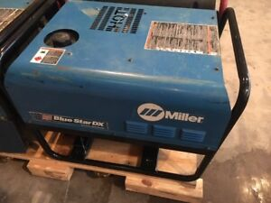 Miller Blue Star Dx 185 Welder Generator Kohler Engine Preowned Gas Powered