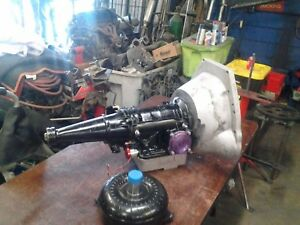 Ford C4 Drag Racing Transmission W Art Carr 9 5500 Stall Torque Converter