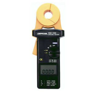 Amprobe Dgc 1000a Clamp on Ground Resistance Tester