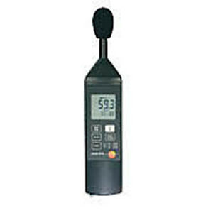 Testo 815 Sound Level Meter A c W Cal Screwdriver Wind Screen And Batteries