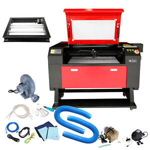 700x500mm 100w Co2 Usb Laser Cutter Engraver Engraving Machine W Rotary A xis