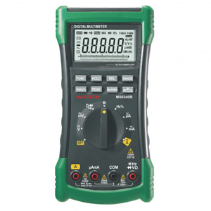 Mastech Ms8340b Digital Multimeter Auto Range True Rms Dmm Usb Interface Meter