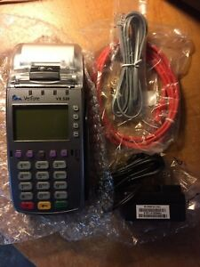 Verifone Vx520 Ethernet Or Phone Emv Nfc First Data Certificate Like New