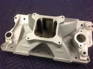 Sbc Aluminum Race Intake Manifold Ported Drag Race 434 Chevy 10051103